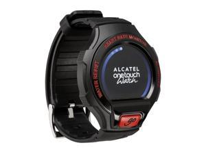 Alcatel OneTouch Go Watch Small/Medium - Black/Red Smart Watch