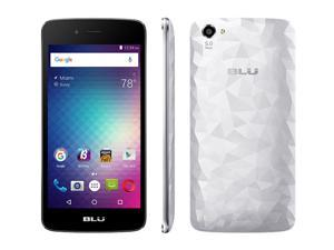 BLU Diamond M D210U Unlocked GSM Quad-Core Android Phone - Silver