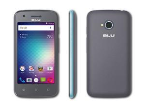BLU DASH L2 - Global GSM Unlocked Android Cell Phone - D250L (Blue)