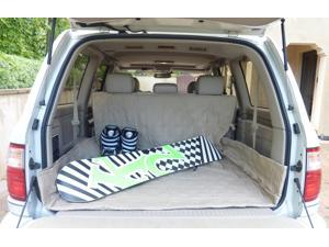 "Deluxe Quilted and Padded Cargo Liner Taupe - One Size Fits All 52"" W x 93""L"