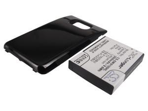 2600mAh Battery For SAMSUNG Galaxy S2 Extended with Black Color Back Cover