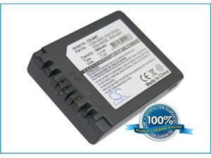680mAh Battery For Panasonic Lumix DMC-FZ1, Lumix DMC-FZ10, Lumix DMC-FZ10EB