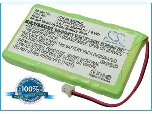 500mAh Battery For Audioline Oyster 200, Oyster 500, 591738