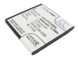 vintrons Replacement Battery For HTC Desire U,Desire V,Desire VC,Desire X,Desire Q,T328h ,PM66100