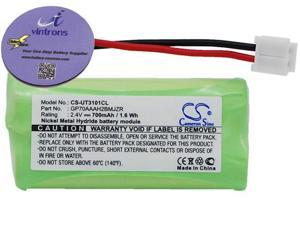 vintrons 700mAh Battery For GE 27909EE1, 27911, 2-7911, 27911EE1, 27950, 2-7950, 28127FE2,