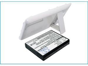 Extended Battery for Samsung Galaxy S II, Galaxy S2, GT-I9100 (WithWhite Color Back Cover)
