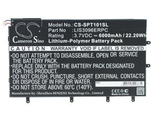 "LIS3096ERPC Replacement Battery (6000mAh / 22.20Wh) For SONY SGP321, SO-03E, Xperia Tablet Z, Xperia Tablet Z 10.1"","