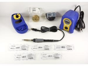 Hakko FX888D-23BY Digital Soldering Station with Chisel Tip Pack T18-D08/D12/D24/D32/S3
