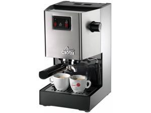 Gaggia Classic Espresso Machine, Brushed Stainless Steel