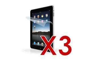 3 X Premium Clear Screen Protector for Apple iPad 2nd 3rd Gen Wi-Fi / WiFi + 3G 16GB 32GB 64GB