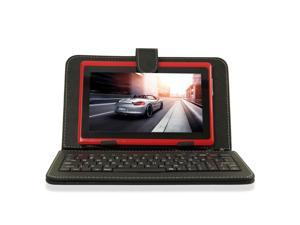 "New 4GB 7"" MID Google Android 4.0 Multi-touch Capacitive Tablet PC WIFI 3G 512MB+Keyboard Case"
