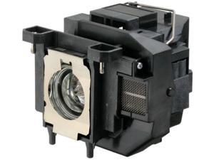 Replacement projector lamp ELPLP67 / V13H010L67 WITH HOUSING for Epson EB S12 / EB W12 / EX3210 / EX5210 / EX7210 / Powerlite ...