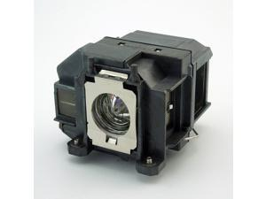 Replacement projector lamp ELPLP67 / V13H010L67 WITH HOUSING for Epson EB S12 / EB W12 / EX3210 / EX5210 / EX7210 / Powerlite 1221 / Powerlite 1261W / Powerlite S11 / Powrelite X12 / V11H433020 / VS21
