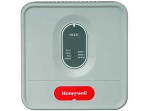 Honeywell Inc. HZ221 TRUEZONE ZONE CONTROL PANEL.  CONTROLS 2 ZONE SYSTEM OF SINGLE STAGE HEAT PUMP WITH AUXILIARY HEAT.