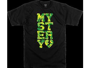 MYSTERY VARSITY WEED SS XL-BLACK