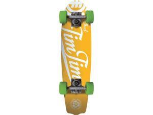 ELEMENT TIM TIM NBLB CRUISER SKATEBOARD COMPLETE-6.875x26 YELLOW