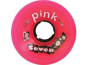 PINK SEVEN-O'S 70mm 78a PINK Skateboard Wheels