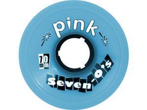 PINK SEVEN-O'S 70mm 81a BLUE Skateboard Wheels