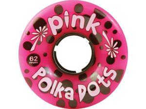 PINK POLKA DOTS 62mm 96a PINK