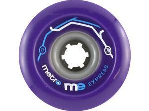METRO EXPRESS 77mm 78a PURPLE Skateboard Wheels
