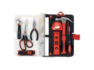 Apollo Tools 126PC Kitchn Drwr Tool Kit Red