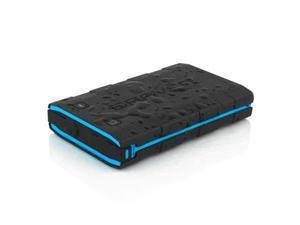 Braven BRV BANK 8000 mAh Backup Battery Black Cyan