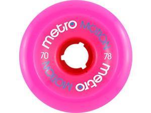 METRO MOTION 70mm 78a MAGENTA Skateboard Wheels