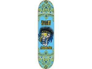 Life Extension SINNER SKULL Skateboard Deck-8.19 w/ MOB GRIP