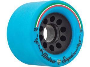 METRO SPYDER 72mm 79a BLU/BLK drift formula Skateboard Wheels