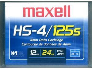 Maxell 4mm 125m DDS-3 12-24GB DDS3 DAT Data Tape Cartridge part# 200025