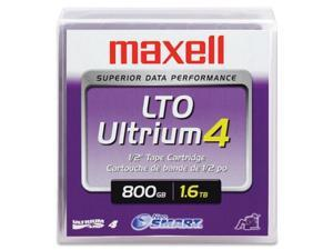 MAXELL LTO4 800GB-1.6TB PART# 183906 ULTRIUM LTO-4 DATA BACKUP TAPE CARTRIDGE