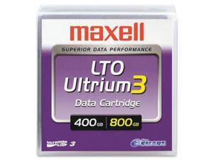 MAXELL LTO3 400-800GB PART# 183900 LTO-3 ULTRIUM DATA TAPE BACKUP CARTRIDGE