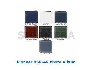 Pioneer BSP-46 Photo Album - holds 204 4x6 Photos - Refillable - Assorted Colors