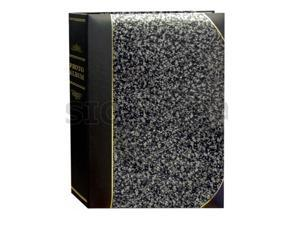 Pioneer BT-46 Silver Marble 2-up Photo Album - holds 200 4x6 Photos