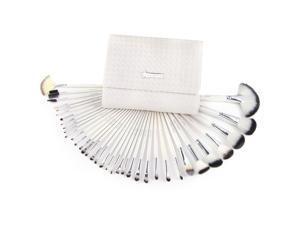 36pcs White Full Set Cosmetic Brush Makeup Blush Brushes with Case