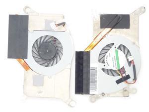 WIFEB Laptop Cpu fan fit for ACER GATEWAY NAVEO LT24/ Packard Bell DOT S3 WITH  HEATSINK