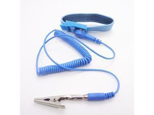 Blue Discharge Anti-Static AntiStatic Wrist Strap Band