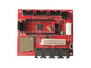 WIFEB 3D Printer Motherboard 1.2 Sanguinololu ATMEGA644P Main Board for Reprap