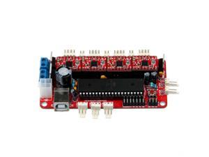 WIFEB 3D printers motherboard Reprap Sanguinololu Ver1.3a +4 pcs A4988 board replacement RAMPS