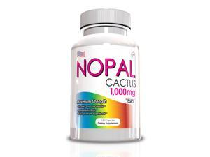 Nopal Cactus, Promotes Healthy Glucose Levels, 120 Capsules, 1000mg Per Serving