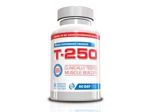 Genetic Solutions Testosterone Booster and Muscle Builder For Men - T-250
