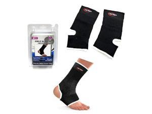 Genetic Solutions HC684 Ankle Support For Men and Women (Pack of 2) - One Size Fits All