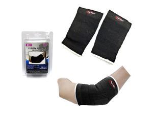 Genetic Solutions HC654 Elbow Support For Men and Women (Pack of 2) - One Size Fits All