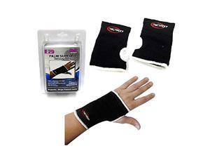 Palm Support For Men and Women, Helps w/ Carpel Tunnel (Pack of 2) - One Size Fits All