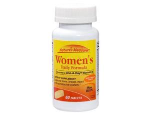 Womens Multivitamin w/Iron, One Per Day, 60 Tablets, (Pack of 3) Supports Bone, Breast Health,Heart, Reproductive System, Boost Immune System Great Multivitamin for Moms