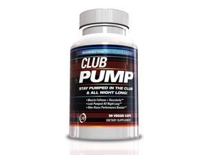Nitric Oxide Supplements- Club Pump, 90 Capsules, Nitric Oxide Booster, Muscle Building Supplements