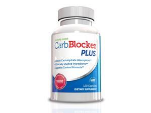 Carb Blocker Plus - Appetite Suppressant & Carb Blocker, 120 Capsules, 30 Day Supply