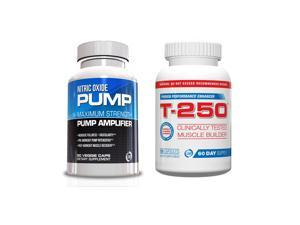 Male Performance Kit, Nitric Oxide and T-250 Male Supplement