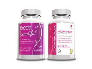 Garcinia Cambogia for Her-Weight Loss Pills & Breast Beautiful-Breast Enlargement Pills