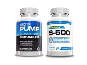 Male Performance Kit, Nitric Oxide and S-500 Male Supplement